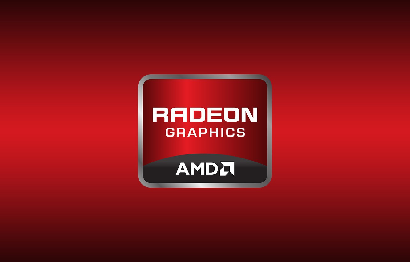 Wallpaper Red, AMD, Radeon, Graphics
