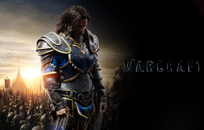 Wallpaper Warcraft Warcraft Movie Travis Fimmel Travis
