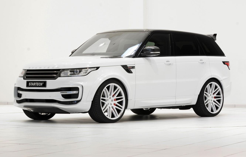 Photo wallpaper sport, Range Rover, Sport, range Rover, 2014, Startech
