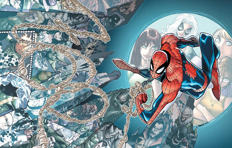 Photo wallpaper Marvel, comic, comics, Spider-Man, Spider-Man, Marvel