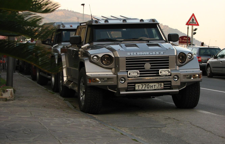 Photo wallpaper SUV, car, Combat t-98, Kombat t-98