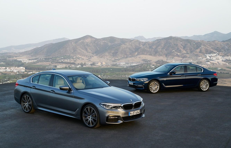 Photo wallpaper BMW, BMW, sedan