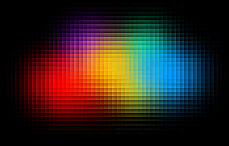 Photo wallpaper color, cubes, texture, different