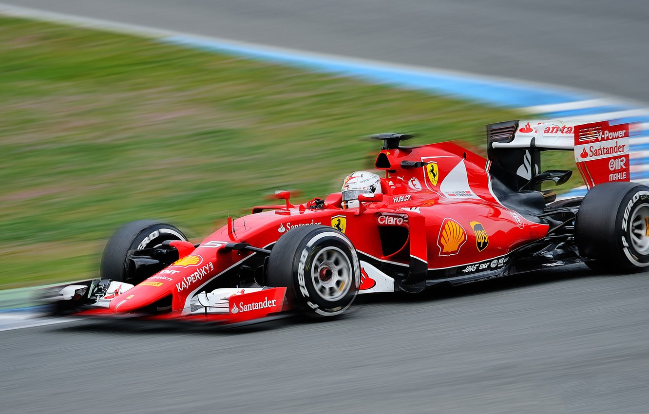 Wallpaper Race The Car Motorsport Sebastian Vettel Formula 1 Scuderia Ferrari Images For Desktop Section Sport Download