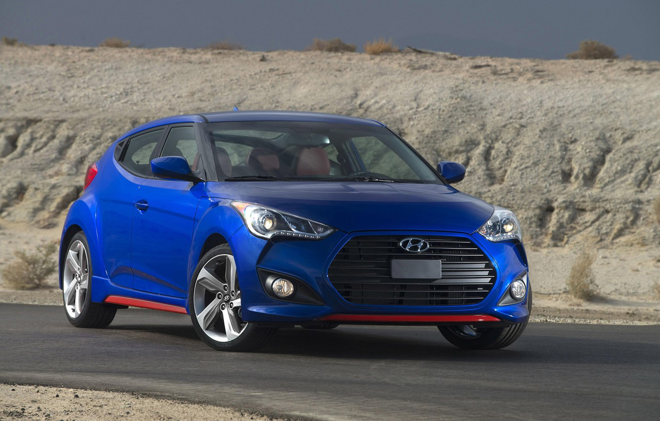 Photo wallpaper turbo, Hyundai, Veloster, R-Spec