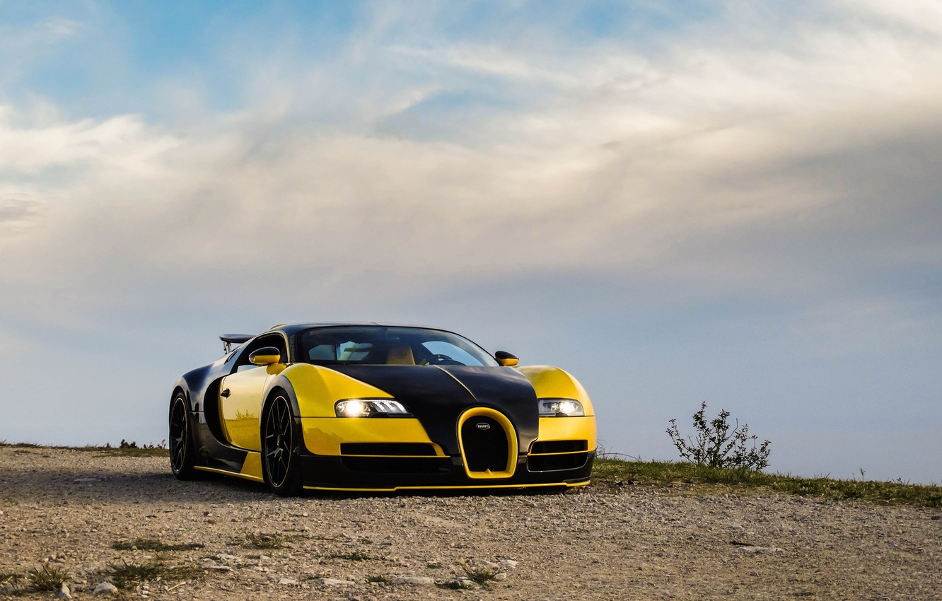 Photo wallpaper Bugatti, Veyron, Design, 16.4, Oakley