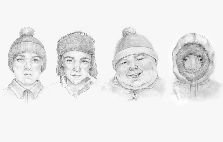 Photo wallpaper heroes, South Park, south park