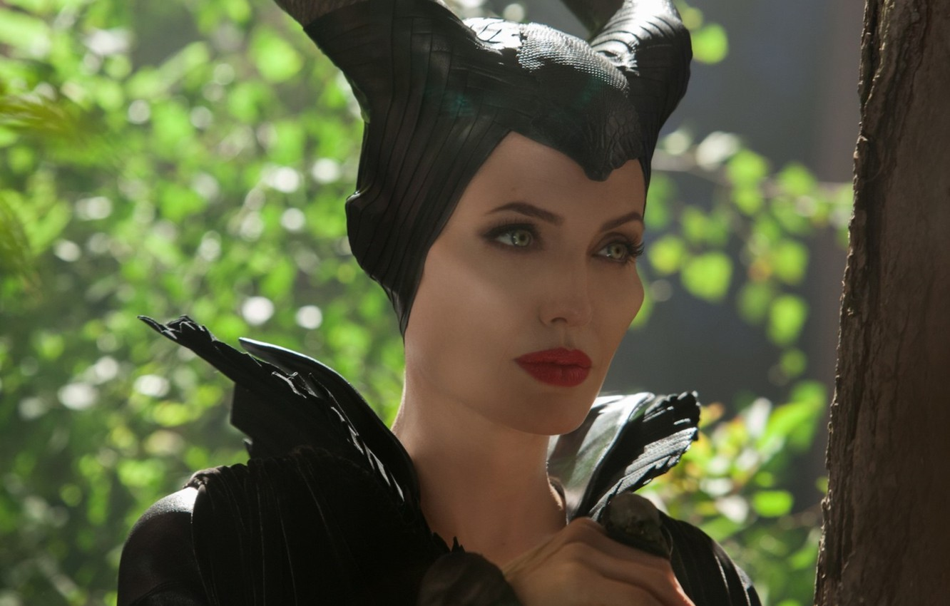 Wallpaper Angelina Jolie Movie Maleficent Images For