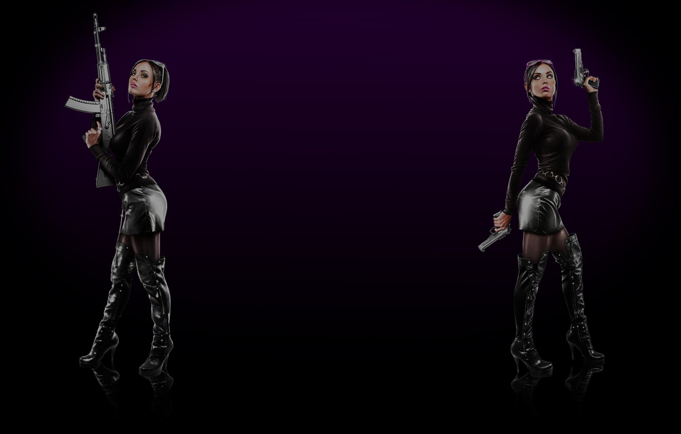 Wallpaper Steam Saints Row The Third Background Profile Viola And Kiki Images For Desktop Section Igry Download