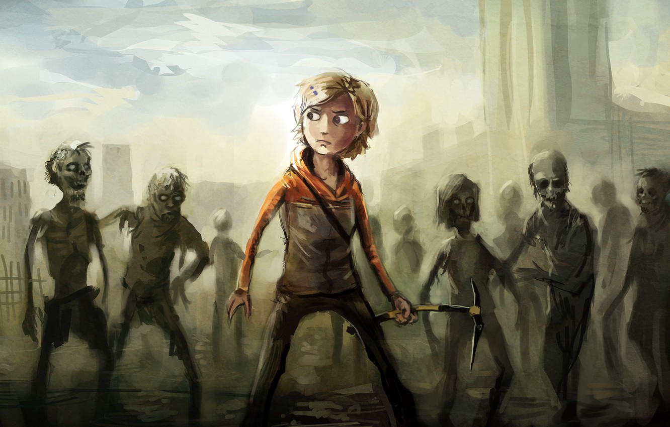 Wallpaper The Game Zombies Game Zombies The Walking Dead The