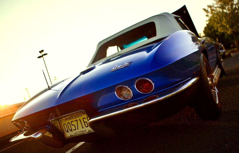 Photo wallpaper Chevrolet Corvette, Sting Ray