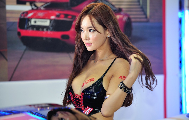Photo wallpaper sports car, Asian, Im Ji Hye