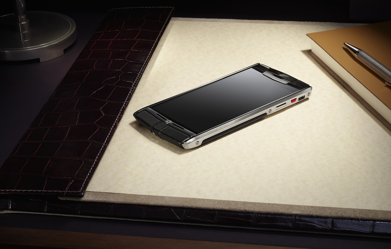 Photo wallpaper style, gadget, hi-tech, smartphone, Vertu, Signature Touch