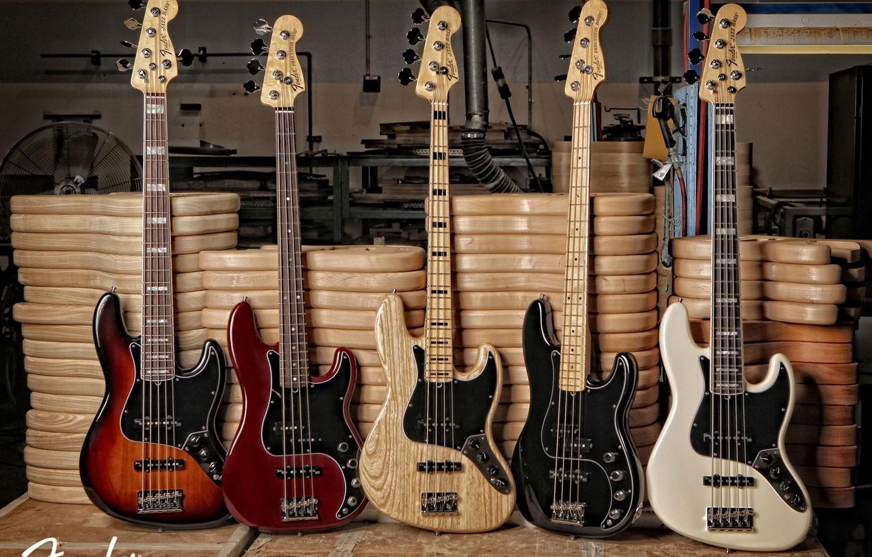 Photo wallpaper bass, guitar, fender, jazz, precision