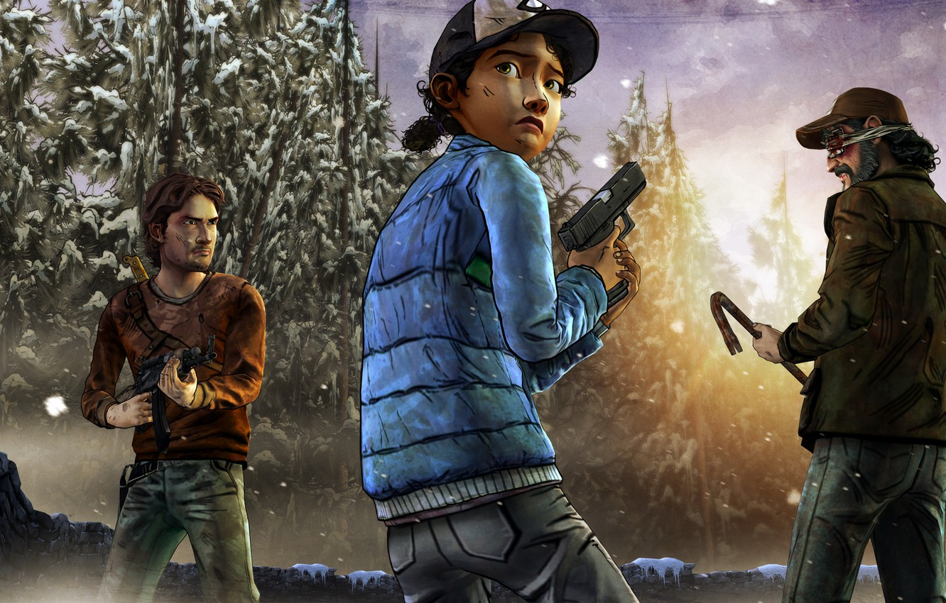 Wallpaper Look Kenny Weapons Zombies The Situation