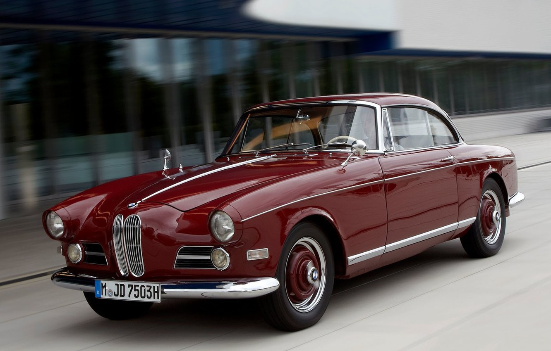 Photo wallpaper BMW, Coupe, 1962—1965, 3200 CS