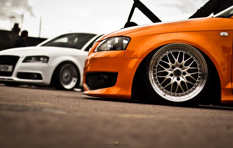 Photo wallpaper asphalt, style, Audi, audi, color, drives