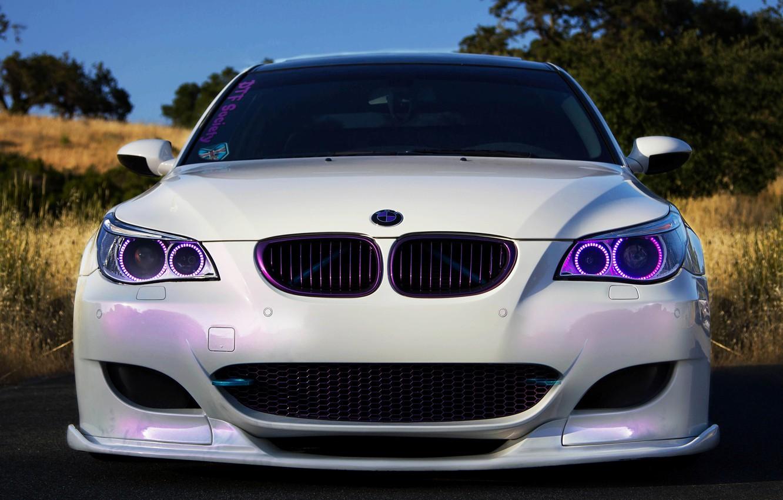 Photo wallpaper BMW, E60