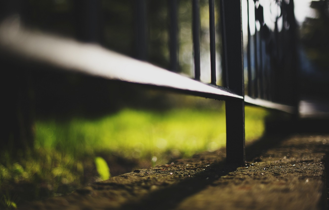 Photo wallpaper asphalt, macro, background, earth, widescreen, Wallpaper, the fence, gate, the fence, wallpaper, widescreen, background, full …