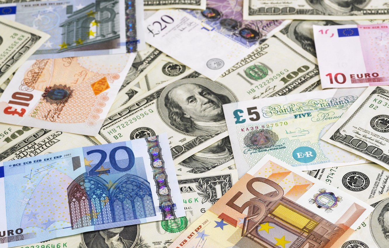 Photo wallpaper money, paper, currency, value