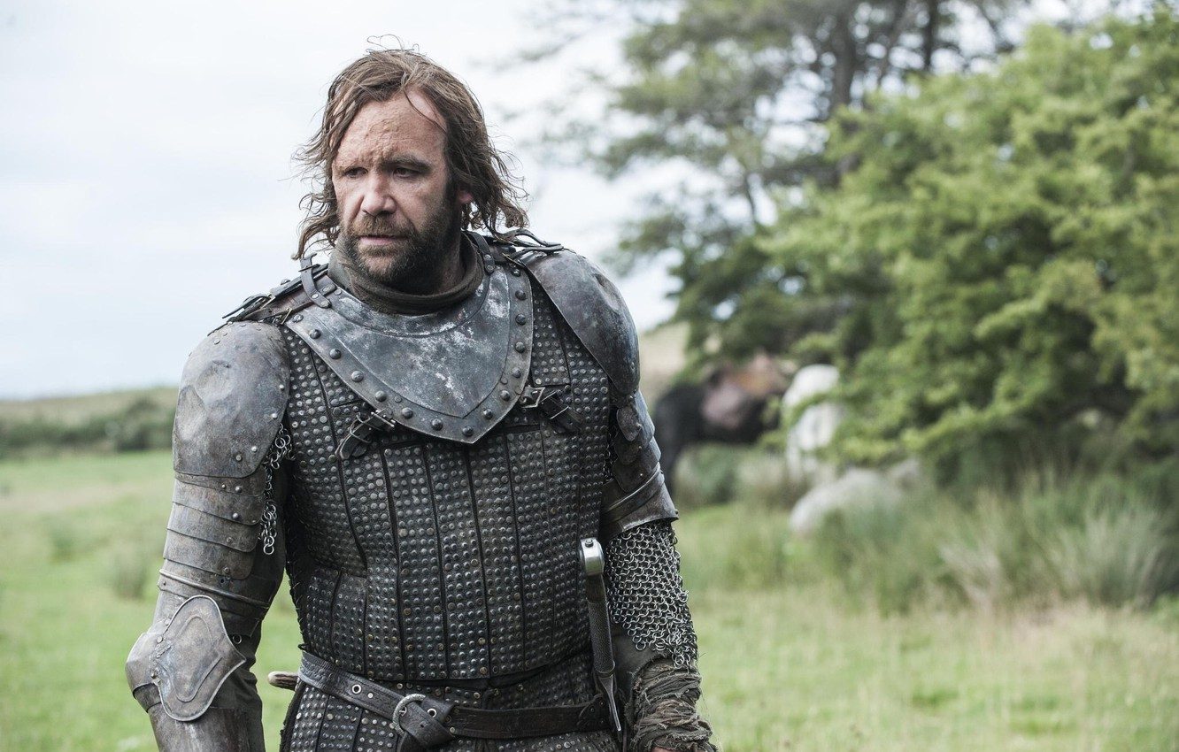 Photo wallpaper nature, armor, warrior, dog, Game of Thrones, Game of thrones, The Hound, Sandor Clegane