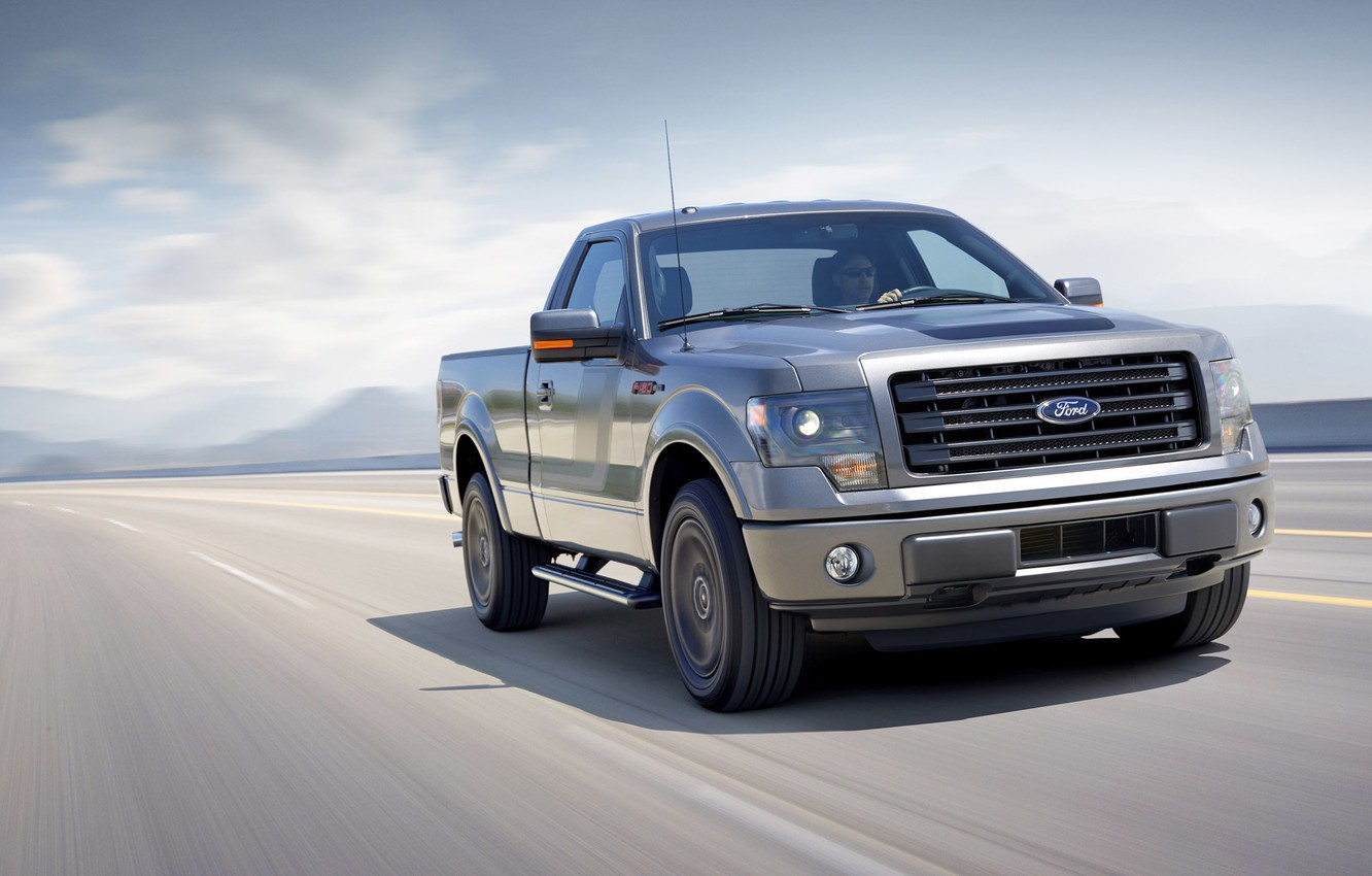 Photo wallpaper machine, Ford, pickup, the front, F-150, powerful, Tremor