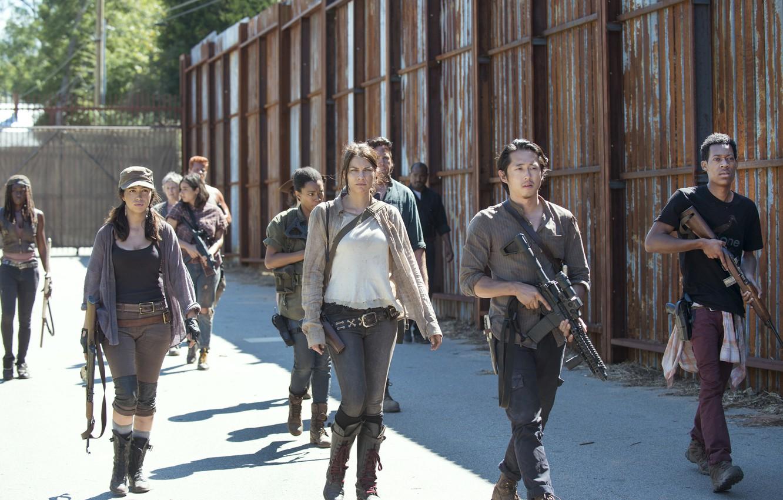 Photo wallpaper team, the series, The Walking Dead, The walking dead