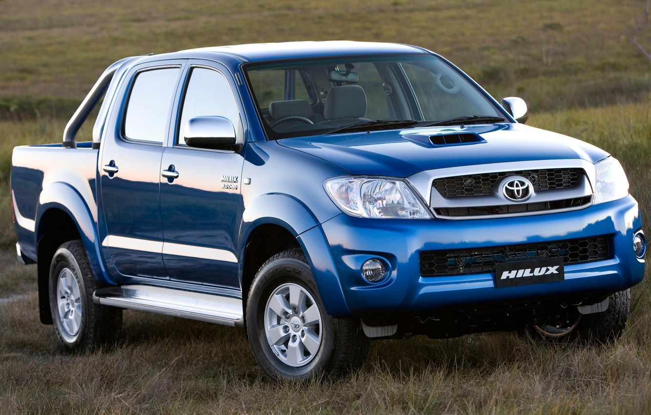 Photo wallpaper Blue, Japan, Wallpaper, Japan, Toyota, Car, Pickup, Auto, Blue, Hilux, Wallpapers, Toyota, Hilux, Picup, ZA-Spec