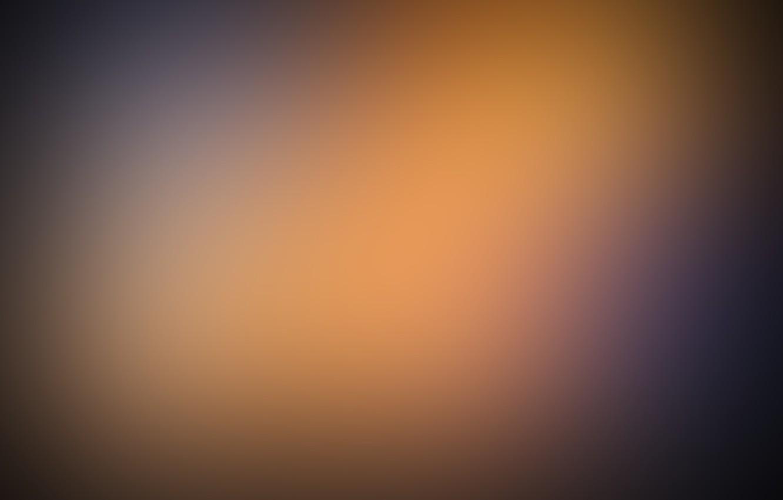 Photo wallpaper orange, minimalism, depth, patterns, blur, Gaussian, gaussian