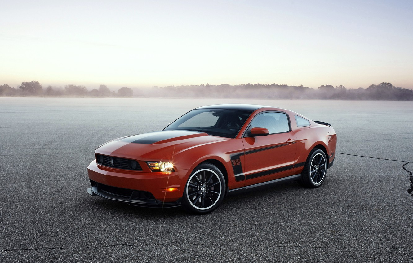 Photo wallpaper Mustang, Ford, Mustang, 2012, Ford