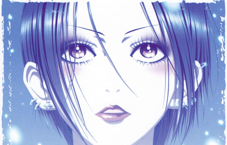 Photo wallpaper face, piercing, art, ai yazawa, Nan, nana, nana osaki
