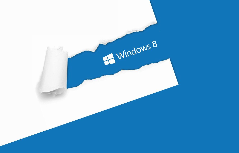 Photo wallpaper white, blue, paper, windows, windows 8