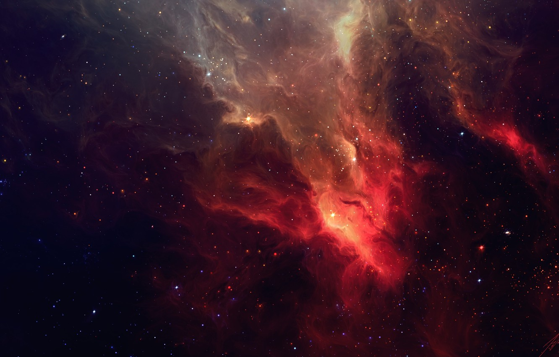 Photo wallpaper space, stars, nebula, art, TylerCreatesWorlds