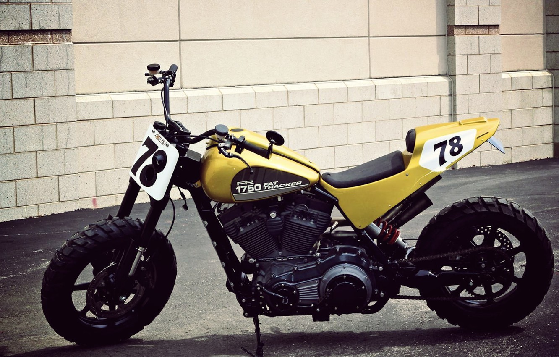 Photo wallpaper Harley Davidson, Motorcycle, Flat Tracker