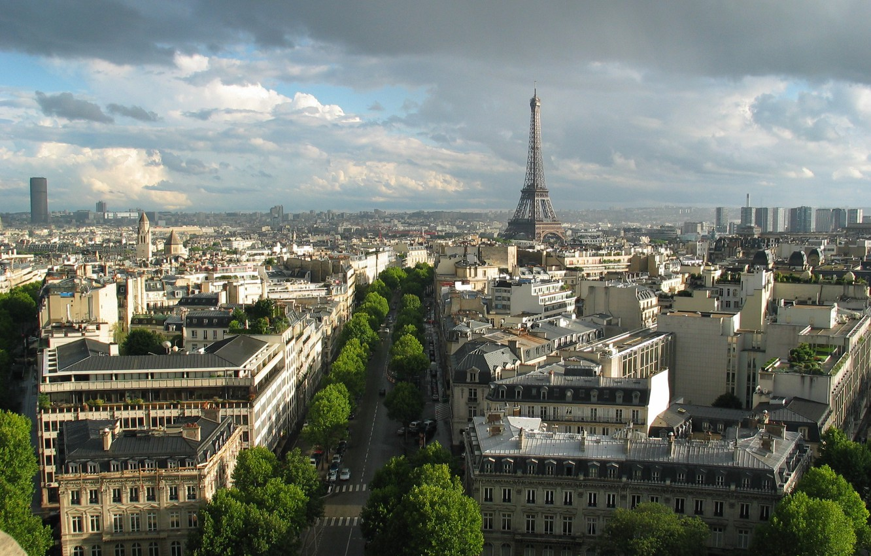 Photo wallpaper France, Paris, building, tower
