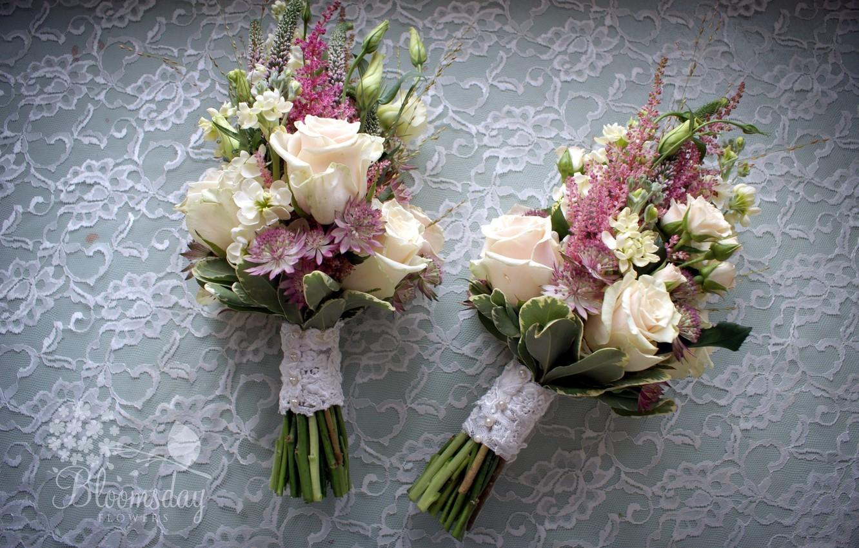 Photo wallpaper flowers, roses, bouquet, composition