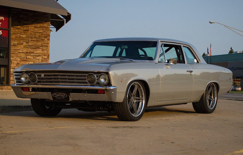Photo wallpaper Chevrolet, Chevelle, Wheels, Concave, SC3C