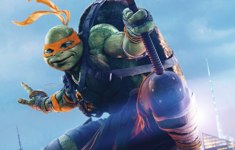 Wallpaper Fantasy Michelangelo Teenage Mutant Ninja Turtles Out