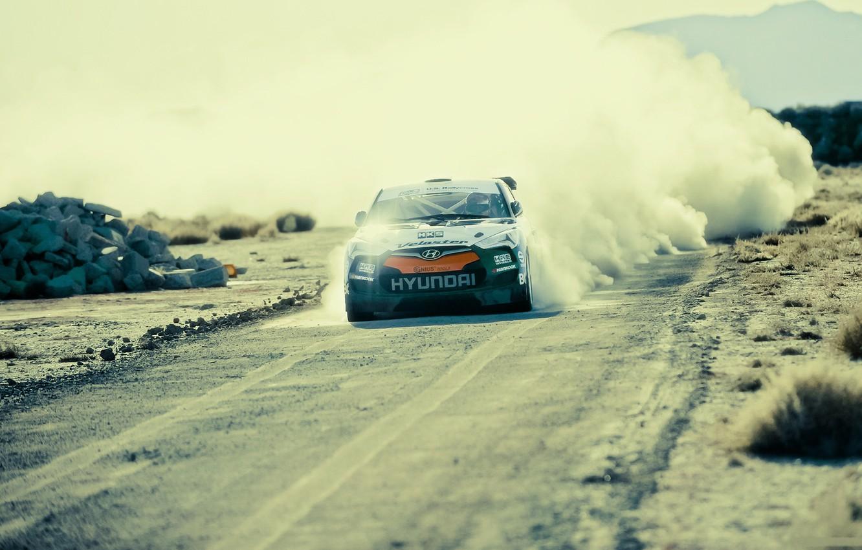 Photo wallpaper auto, tuning, track, Moto, track, rally, tuning, hyundai