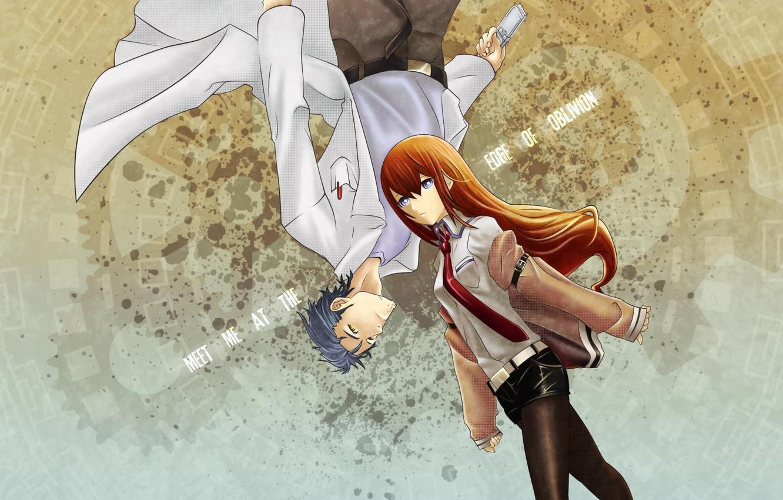 Photo wallpaper anime, Oblivion, Steins Gate, Kurisu Makise