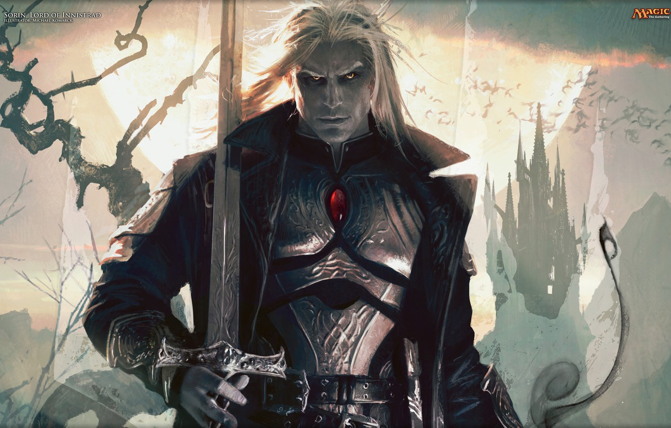 Wallpaper Sword Sorin Markov Magic The Gathering Sorin Markov