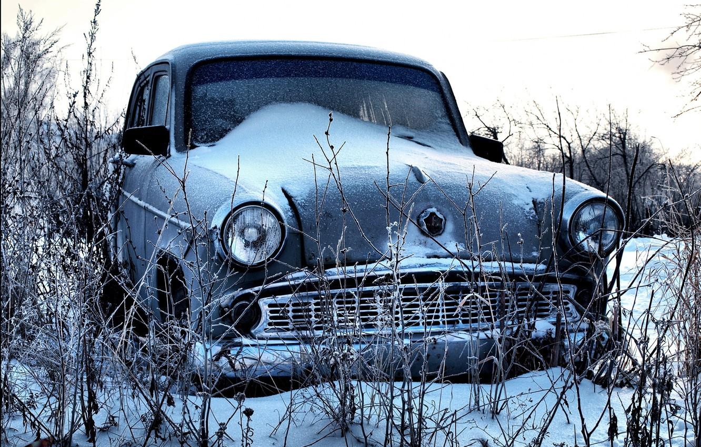Photo wallpaper snow, Muscovite, 407
