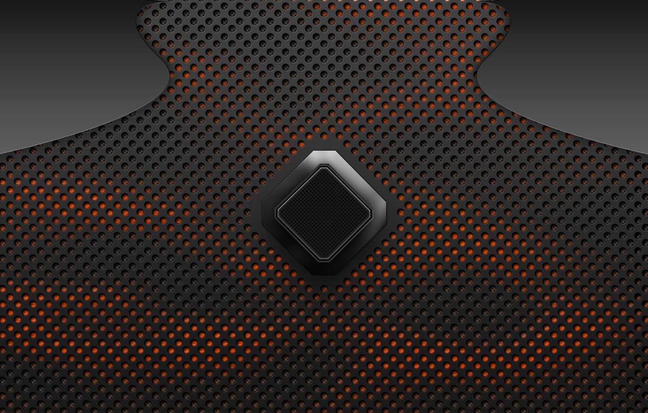 Wallpaper Orange Heat Carbon Rhombus Carbon Fiber Images