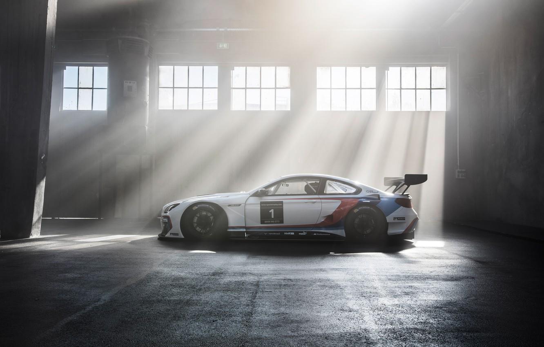 Photo wallpaper BMW, BMW, GT3, Sport, F13, 2015, sprt