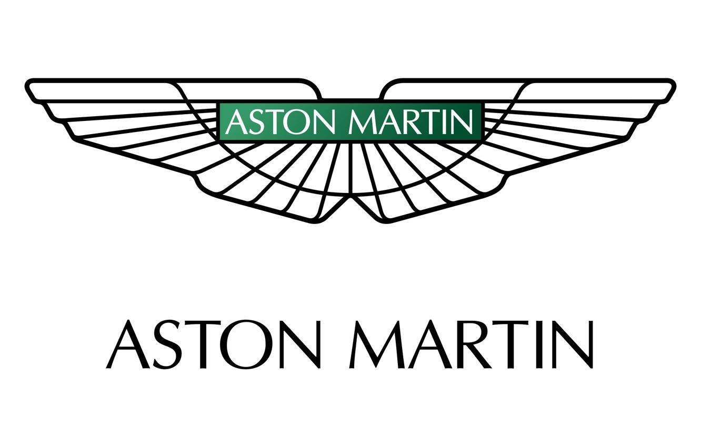 Photo wallpaper Aston Martin, logo, English, car, mark, manufacturer