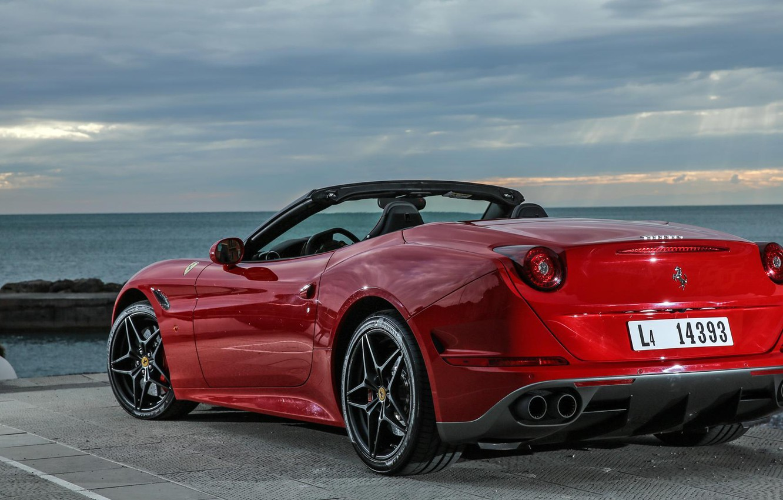 Photo wallpaper Ferrari, Ferrari, California, Back, Handling Speciale