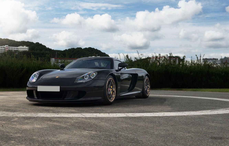 Photo wallpaper Porsche, Carrera, Series, Track, Spec, ADV05C