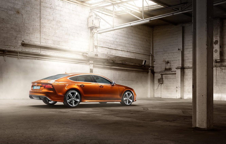 Photo wallpaper Audi, brown, RS7, Ipanema