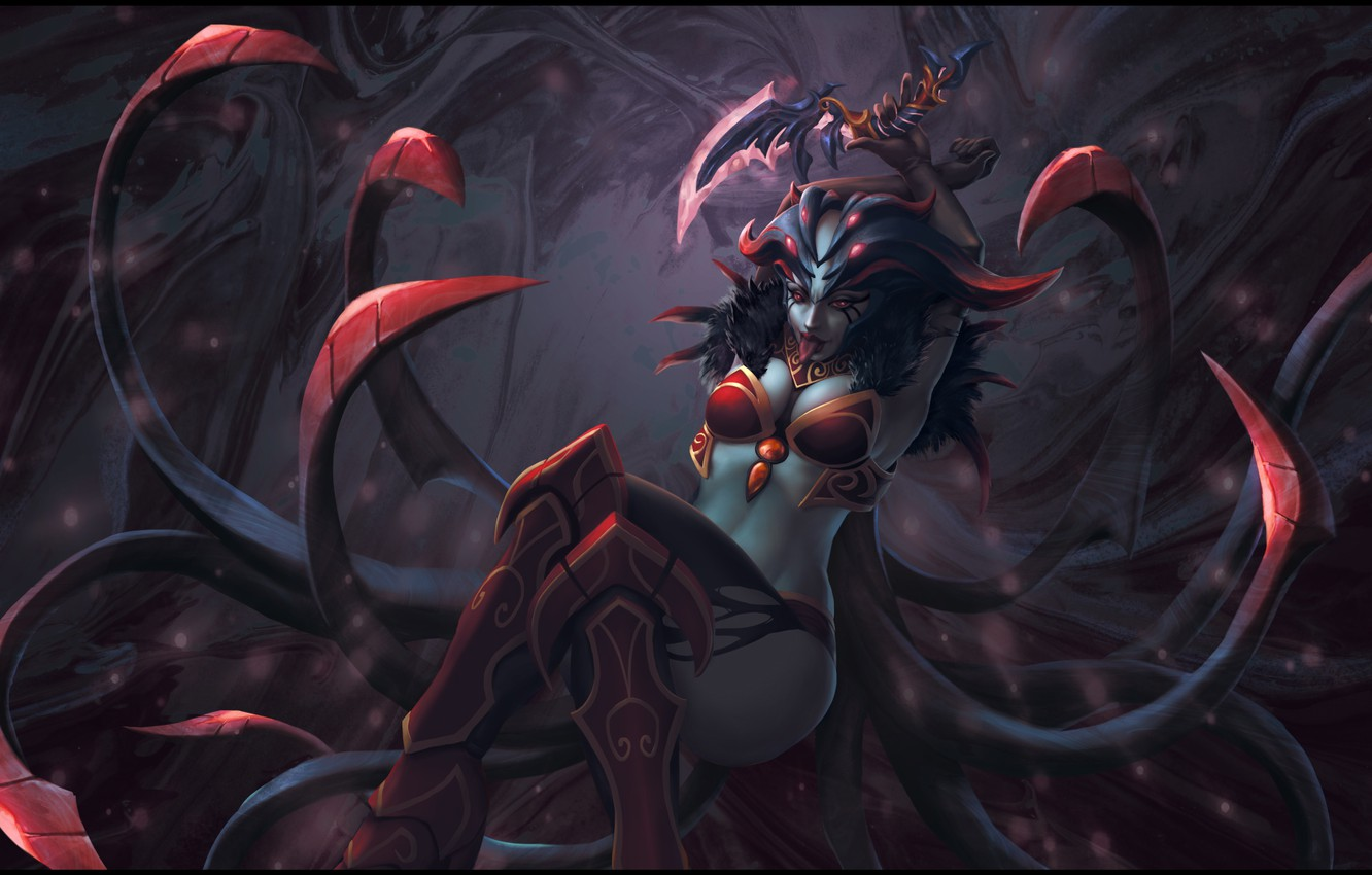 Wallpaper Queen Of Pain Dota Dota Queen Queenofpain Queen Of