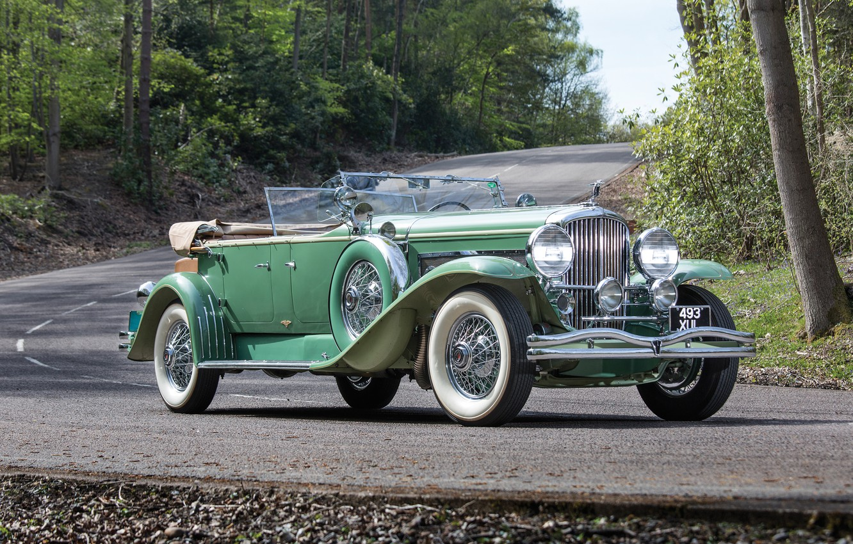 Photo wallpaper coupe, Coupe, Convertible, 1930, Duesenberg, dusenberg, convertible top